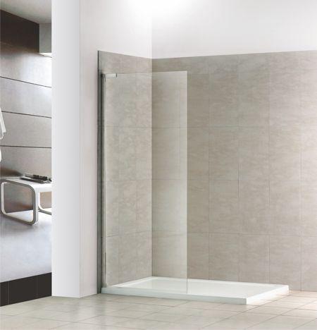 pin walk in dusche duschkabine duschabtrennung 140x90. Black Bedroom Furniture Sets. Home Design Ideas